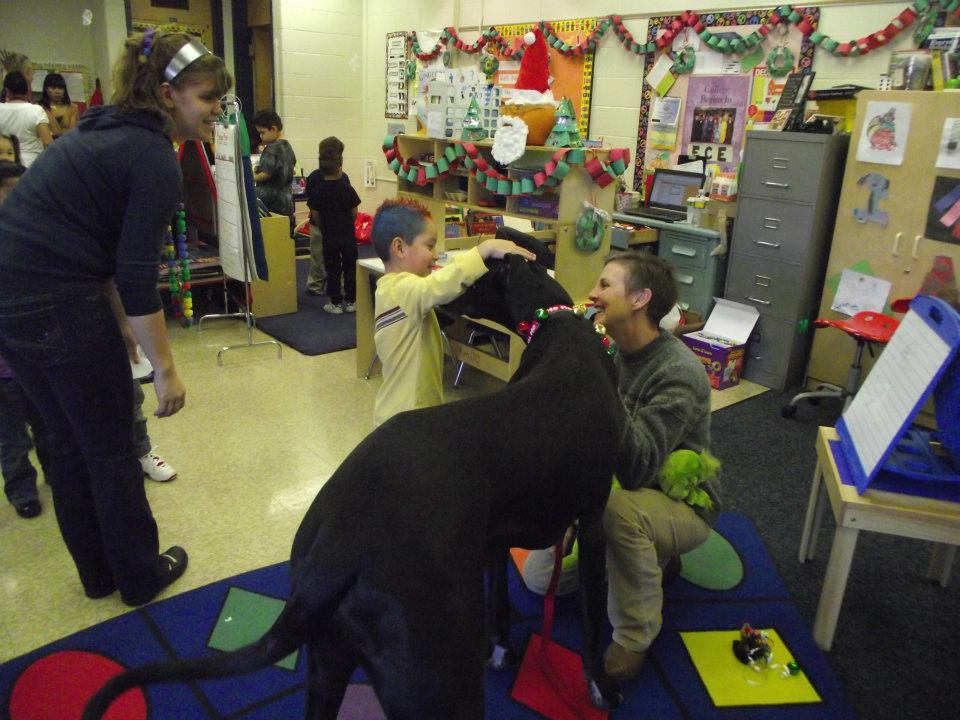 Teaching kids about animals and compassion
