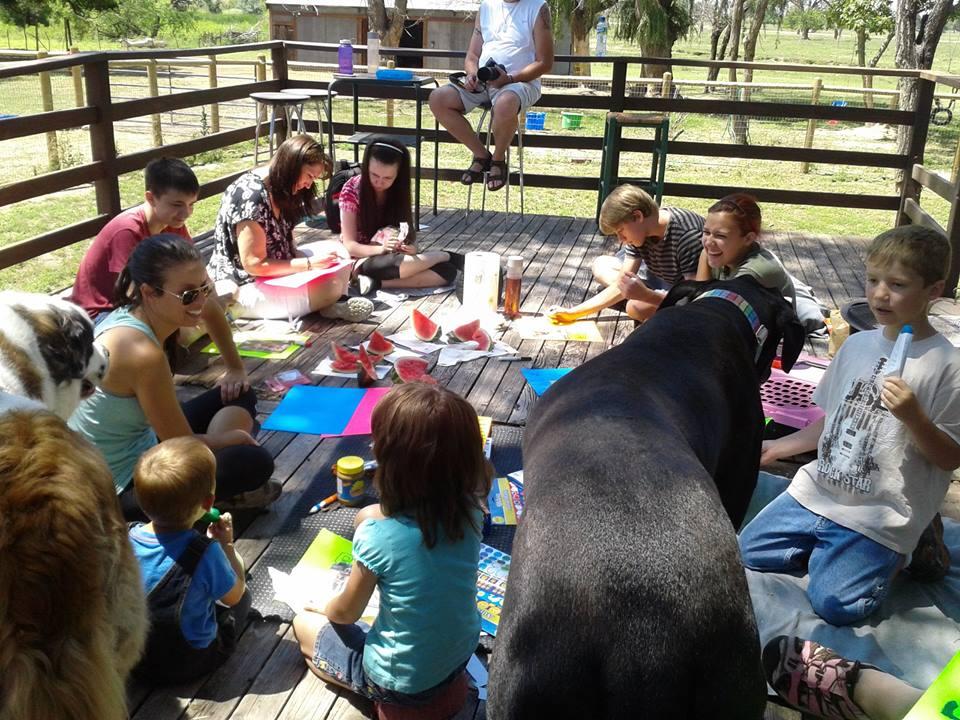 Children enjoying Kindness Camp activities