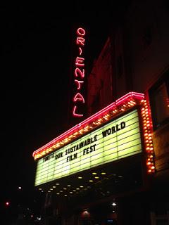 Film Festival marquee